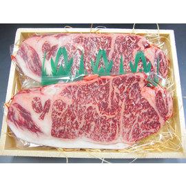 【1ケース/20コ入りで送料無料】宮崎牛ロースステーキ 180g×2枚