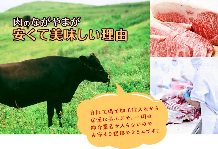 肉のながやまが安くて美味しい理由